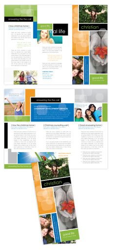 Christian Ministry Tri Fold Brochure Template | 25-Tri-Fold Brochure Templates | 19-By Product | 14-All Templates | dLayouts