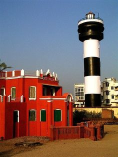 Lighthouses of India: West Bengal, Orissa, and Andhra Pradesh, Puri