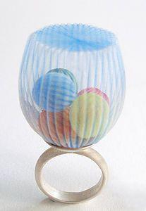 Mariko Kusumoto rings, sculptures and wearable art   Artist
