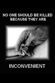 Saying any one person is Inconvenient is the mentality of completely selfish people. Unnecessary killing & death should not profited from or amused.