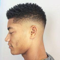 Popular Haircuts For Short Hair Men Black Men Haircuts, Black Men Hairstyles, Hairstyles Haircuts, Mens Hairstyles With Beard, Hair And Beard Styles, Curly Hair Styles, Medium Hair Cuts, Short Hair Cuts, Texas Longhorns
