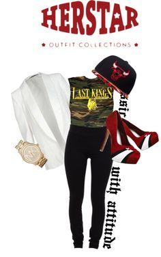 """""""Chicago Bulls HERSTAR Fashion"""" by missmelika on Polyvore"""