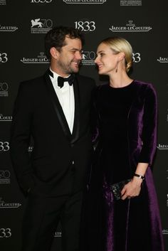 Diane Kruger and Joshua Jackson at the Jaeger-LeCoultre Event