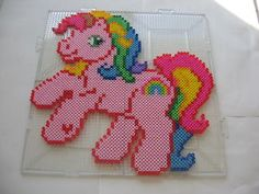 My Little Pony Perler Beads