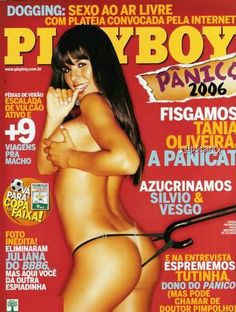 Tânia Oliveira pelada na Playboy Fevereiro de 2006
