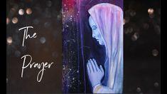 The Prayer - Spiritual Acrylic Painting Painting Videos, Angel Art, Prayers, Spirituality, Tv, Creative, Artwork, Instagram, Work Of Art