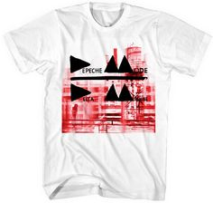 This men's Depeche Mode Delta Machine tshirt spotlights the album cover artwork to the electronic music super group's latest release. Considered their strongest album since Violater, this Delta Machine tee is made from 100% white cotton.