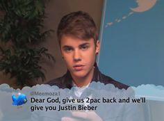 Justin Bieber from Celebrity Mean Tweets From Jimmy Kimmel Live! | E! Online