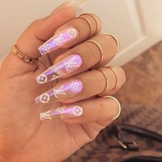 We have collected 130 + elegant Rhinestones coffin nails for you. Enjoy these be… – Coffin Nails - LastStepPin : We have collected 130 elegant Rhinestones coffin nails for you. Enjoy these be Coffin Nails Aycrlic Nails, Swag Nails, Coffin Nails, Manicure, Glitter Nails, Stiletto Nails, Kylie Nails, Gradient Nails, Holographic Nails