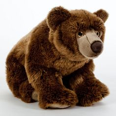 Buy Living Nature Brown Bear Soft Toy, 40cm Online at johnlewis.com
