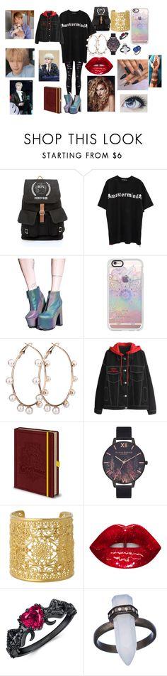 """""""BTS Jimin"""" by btsloveforlife ❤ liked on Polyvore featuring Mastermind Japan, Y.R.U., Casetify, Olivia Burton, Isharya, Didi Jewellery and Irene Neuwirth"""