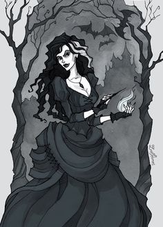 Bellatrix Lestrange by IrenHorrors on @DeviantArt