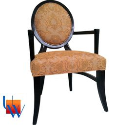 MGM Casino Resort Upholstered Chair by Upholstery Works. Las Vegas, NV http://www.UpholsteryWorksLV.com