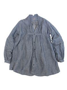 リネンストライプ クロッキーシャツ | KAPITAL - WEB SHOP