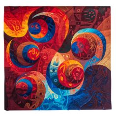 Greater Spirit VII Tapestry Art by Maximo Laura Weaving Textiles, Tapestry Weaving, Wall Tapestry, Contemporary Tapestries, Contemporary Quilts, Tapestry Online, Creative Textiles, Quilted Wall Hangings, Textile Artists