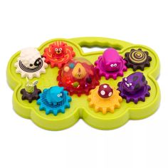B toys Mooosical Gears Light-Up Musical Shape Sorter with Singing Animals : Target Zany Zoo, Shape Puzzles, Musical Toys, Light Music, The Dj, Toddler Gifts, Fine Motor Skills, Light Up, More Fun