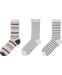 Women Socks 3 Pack (Marine)