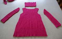 Confessions of a Crafter: Upcycled Sweater Dress