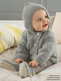 "PDF ""Knitting Pattern Baby Hooded J"", ""Ravelry: Seamless Baby Hoodie pattern Baby Sweater Patterns, Baby Cardigan Knitting Pattern, Knit Baby Sweaters, Chunky Knitting Patterns, Knitted Baby Clothes, Hoodie Pattern, Baby Patterns, Baby Boy Knitting Patterns Free, Crochet Jacket"