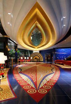 Lobby Burj Al Arab Dubai