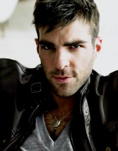Zachary- I just collapsed for a brief second. Mr. Quinto, words cannot explain how much I love you!