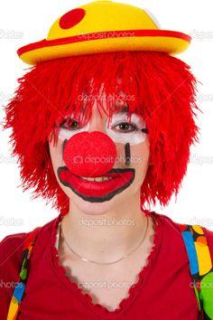 Funny Clowns | Funny clown - Stock Image
