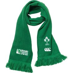 Ideal Gift for all Rugby Fans Scarf Dimensions x approx Brand New with Tags - Header Card Official Licensed Ireland Rugby, Rugby World Cup, Canterbury, Irb Rugby, Brand New, Header, Fans, Adidas, Shopping