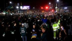 Philadelphia fans set fire damage property after Super Bowl win | Sports