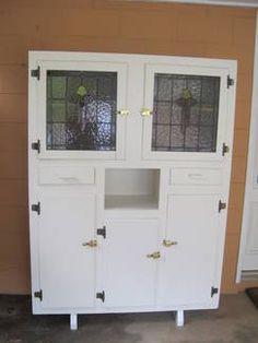 Retro/vintage French 50s/60s Formica Kitchen Cabinet Dresser | EBay |  Kitchen Dressers | Pinterest | Французский, Комоды и Шкафы
