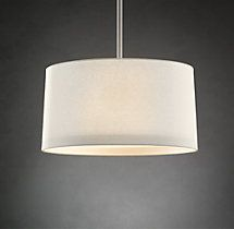 Restoration hardware, for dining room.....Round Shade Pendant