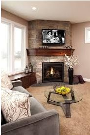 Fireplaces provide an inviting warmth and they also add visual impact to any room. Checkout our ideas.