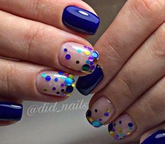 Here are some hot nail art designs that you will definitely love and you can make your own. You'll be in love with your nails on a daily basis. Orange Nail Designs, Simple Nail Designs, Nail Art Designs, Shellac Nails, Glitter Nails, Acrylic Nails, Gold Glitter, Metallic Nails, Fancy Nails