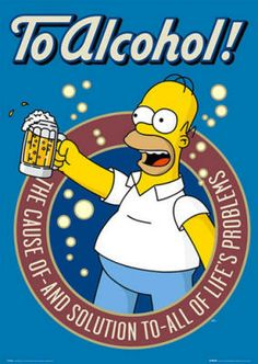 Homer Simpson - Alcohol