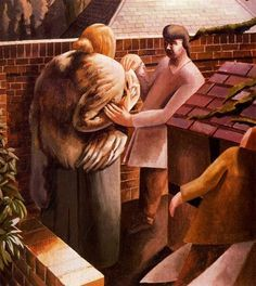 The Meeting - Stanley Spencer