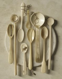 randi brookman harris | I don't think these spoons are wooden but I like them anyway ... :P