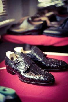 gentlemansessentials: Saint Crispin's Gentleman's Essentials Sock Shoes, Shoe Boots, Saint Crispin, Gentleman Shoes, Derby, Monk Strap Shoes, Well Dressed Men, Men S Shoes, Shoe Collection