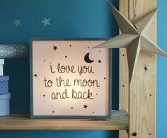 Moon cubito con luz