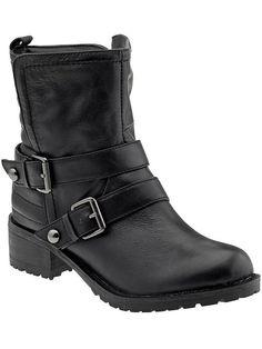 Report Seymore | Piperlime The perfect Moto boot. I love a Moto w/ a