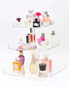 Bella XL 3-Tier Perfume Storage Holder. #PerfumeStorage