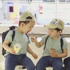 Brotherly Love. Song Minguk and Song Daehan
