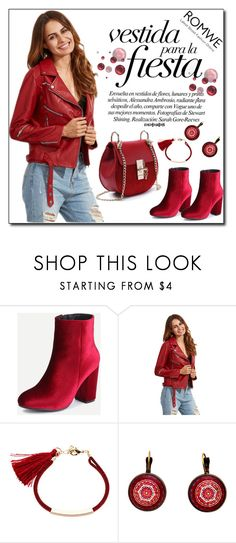"""""""ROMWE 9"""" by woman-1979 ❤ liked on Polyvore featuring vintage"""