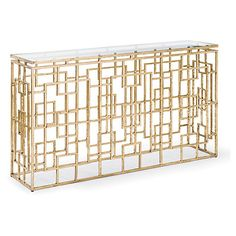 """Rectangle 54"""" Grill Console, Gold $815.00"""