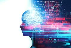 Human Brain-Sized Artificial Intelligence (AI): Coming Soon To A Cloud Data Center Near You Artificial Intelligence Article, Artificial Intelligence Algorithms, Machine Learning Artificial Intelligence, Artificial Brain, Brain Size, Cloud Data, Photoshop, Technology World, Deep Learning