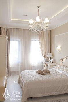 Шторы в интерьере Master Bedroom Interior, Home Bedroom, Home Living Room, Bedroom Decor, Plafond Design, Pretty Bedroom, Luxurious Bedrooms, Beautiful Bedrooms, Home Decor Inspiration