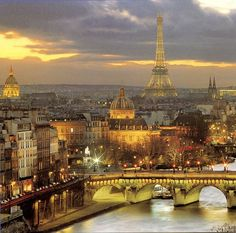 City of lights, Paris, France Paris Canal, Paris City, Paris Paris, Tour Eiffel, Paris Travel, France Travel, The Places Youll Go, Places To See, Paris Monuments