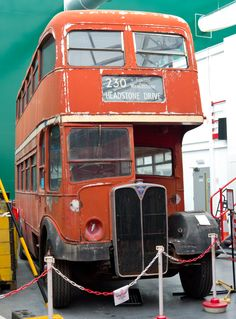 RLH 53 undergoing restoration at the London Bus Museum, Brooklands. .@Jorge Cavalcante (JORGENCA)