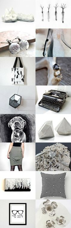 Summer black and whites by WittyWackyPrints on Etsy--Pinned with TreasuryPin.com #annehermine