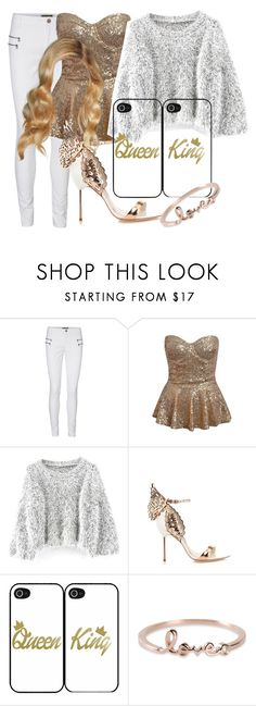 """""""Untitled #273"""" by sara-bitch1 ❤ liked on Polyvore featuring Vero Moda, Chicnova Fashion, Sophia Webster and Sydney Evan"""