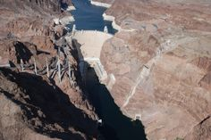 helicopter flight over Hover Dam Nevada photo by Sabrina Hartman
