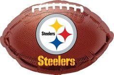 NFL Pittsburgh Steelers Football Jr Shape Balloon